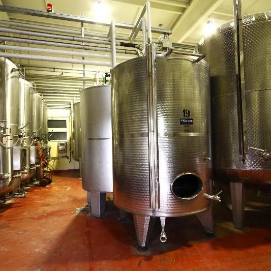 Vasche in acciaio cantina Gaggioli