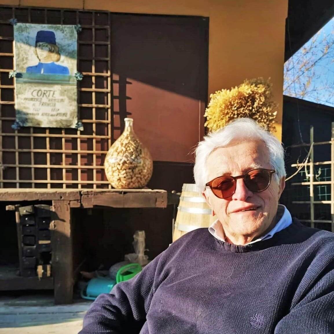 Carlo Gaggioli fondatore e titolare dell'azienda agricola e vitivinicola Gaggioli un provincia di Bologna