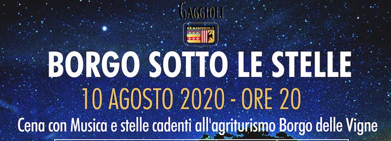 Borgo sotto le stelle 10 agosto 2020 zola predosa