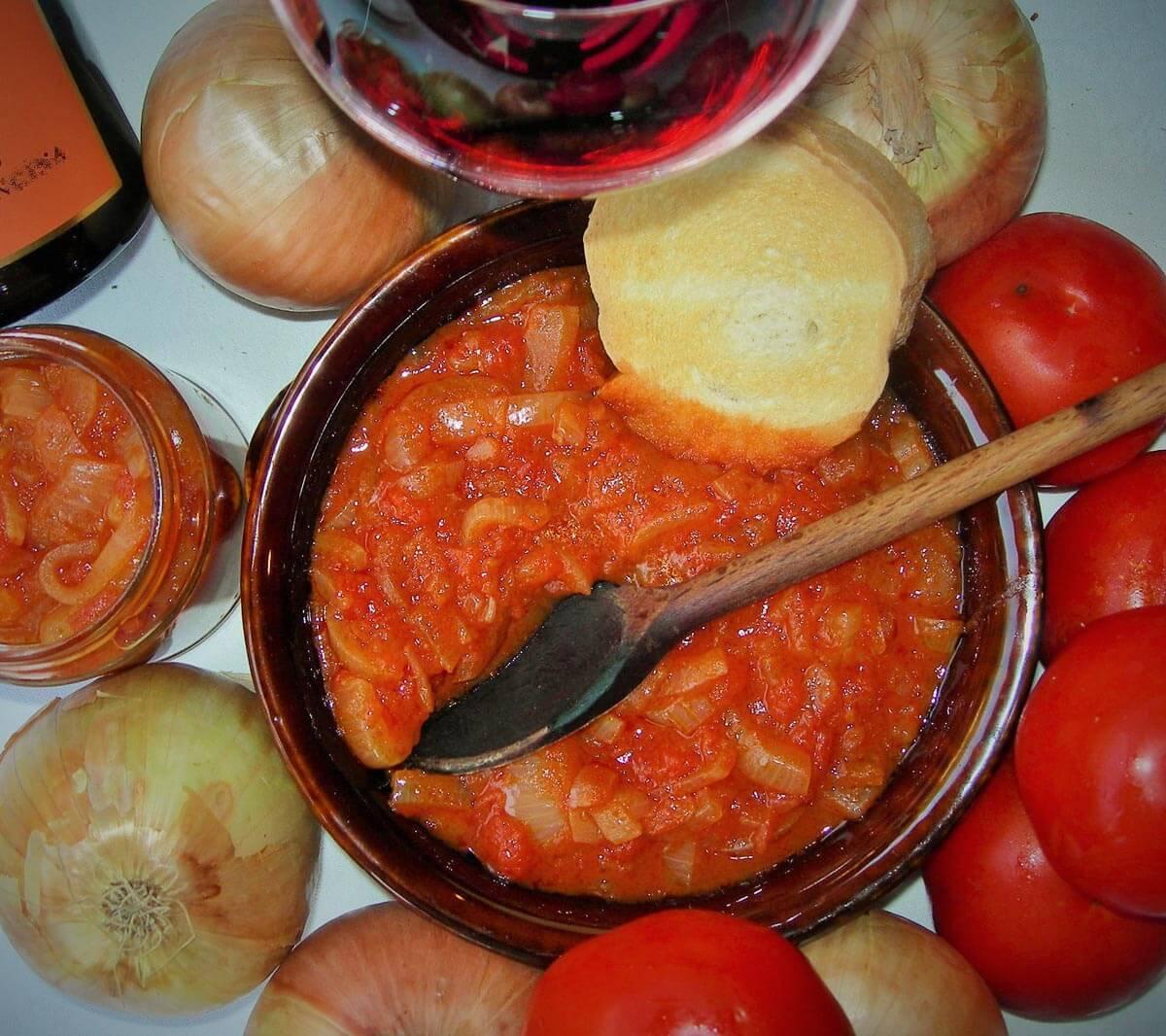 friggione- ricette tradizionali all'agriturismo Borgo delle Vigne in provincia di Bologna