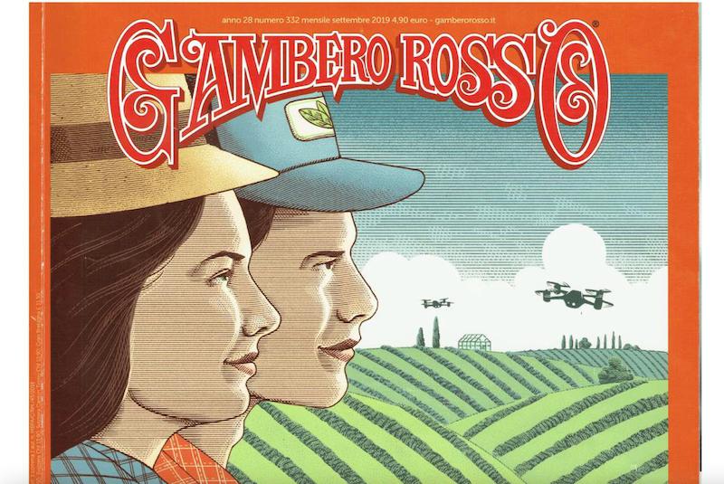Articolo Azienda Gaggioli sul Gambero Rosso- settembre 2019