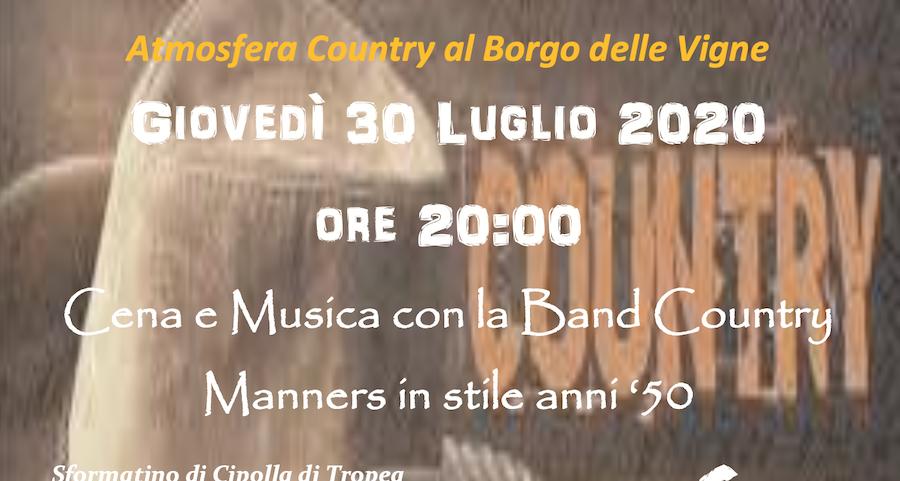musica country al borgo delle Vigne a Zola Predosa